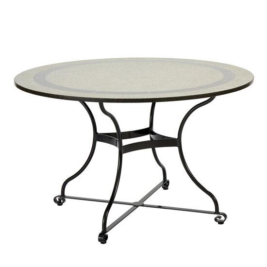 Fontenay Tisch Rund 120 Granitplatte Garpa