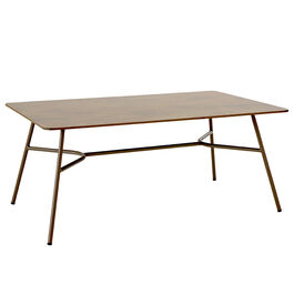 Casablanca Table 140 x 80, HPL Patina Grey-Brown