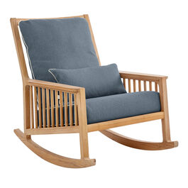 Indigo Cushions for Newhaven Rocking Chair, extra cushion included