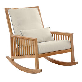 Linum Cushions for Newhaven Rocking Chair, extra cushion included