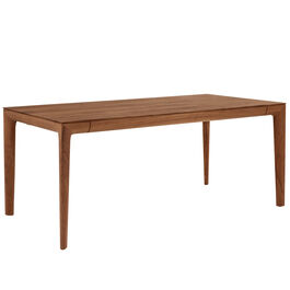 Tavo Solid Wood Table American walnut, extending
