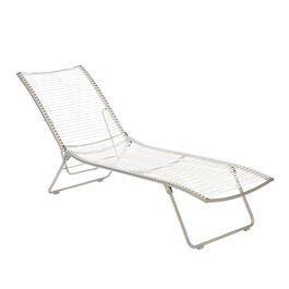 Pan Lounger White