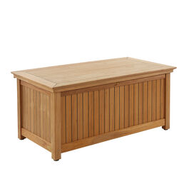 Low Cushion Chest Teak L