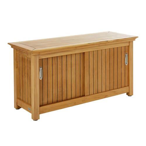 sideboard mit edelstahlgriffen garpa. Black Bedroom Furniture Sets. Home Design Ideas