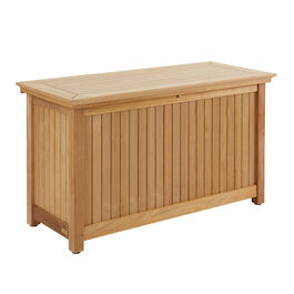 High Cushion Chest L, Teak